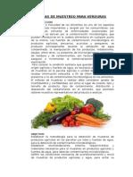 Programas de Muestreo Para Verduras