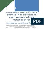Investigacion de Mercado - Aseo Personal