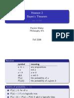 Bayes's Theorem