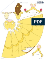 Belle Papercraft Printable 0210 FDCOM
