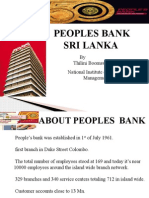 Peoples Bank - time reduction of permenent over draft
