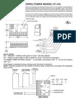 STI LT1UL Installation Manual