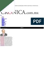 La Crónica de Hoy | Dos naciones con un futuro compartido - Dr. Manuel Añorve Baños