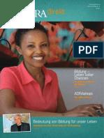 ADRA Direkt 2/2015 - Bildung - Leben voller Chancen