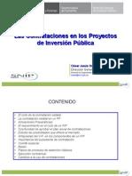 Contrataciones de Proyectos de Inversión