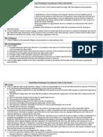 Model Rules Chart
