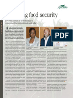 Bolstering food security