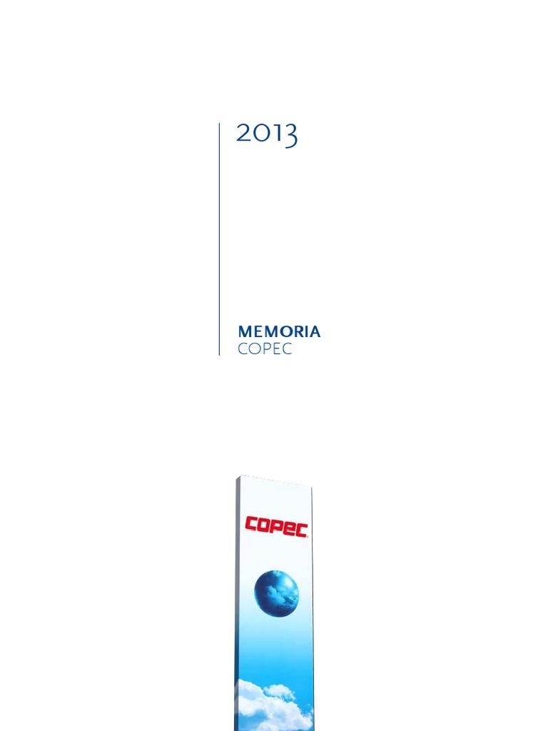 Memoria Copec 2013