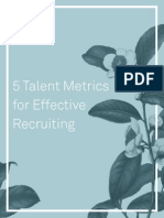 5 Recruiting Metrics That Will Earn You a Seat at the Executive Table