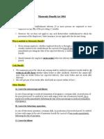 Maternity Benefit Act 1961_basic Info