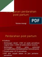 Penanganan Perdarahan Post Partum
