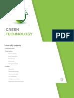 13- Green Technology
