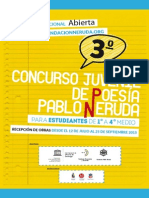 Bases Concurso Poesia Joven 2015