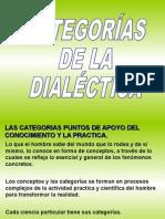 CATEGORIAS DIALECTICAS