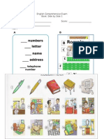 English Comprehensive Exam Side by Side Book 1.docx