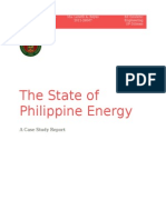 The State of Philippine Energy