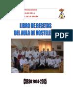 Recetas Aula Hosteleria 2004 2005