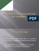 91696813 Prescripcion Adquisitiva de Dominio