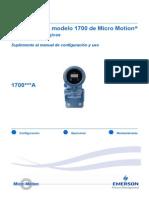 Suplemento Medidor 1700 AO Español