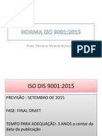 Abnt Iso9001 2015 Mudancas