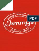 Jimmy's Menu