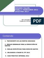 impuestos  2014.ppt