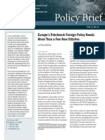 Europe's Patchwork Foreign Policy Needs More Than a Few New Stitches