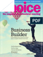 Choice Magazine - July 2015 Marketing Article