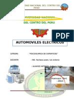 INFORME VEHICULOS ELECTRICOS