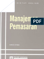 Manajemen Pemasaran (Marketing Management)