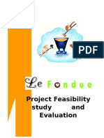 Project Feasibility of Le Fondue