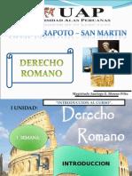 Derecho de Personas en Roma