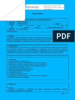 Plano de Ensino de Cálculo Numérico _2014.1 (60 Horas)