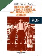 Introduccion a La Historia General Del Movimiento Obrero