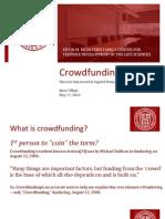 Crowdfunding [Villani]