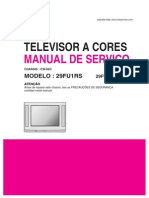 Service Manual TV LG 29