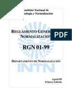 Reglamento General Normalizacion Ctn