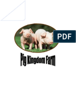 Pig Kingdom FarmProject feasibilty Study and Evaluation . Aj. chaiyawat Thongintr. Mae Fah Luang University (MFU) 2010