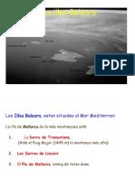 Relleu de Les Illes Balears