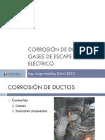Corrosión de Ductos de Gases de Escape de Horno Eléctrico