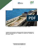 Caderno de Encargos e Especificacoes Tecnicas