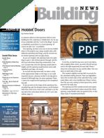 Hobbit Door - log building