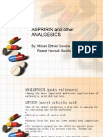 Aspririn and Other Analgesics