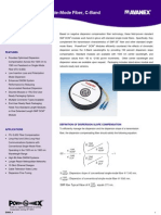 PowerForm DCM Modules for Single-Mode Fiber, C-Band