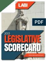 2015 LABI Scorecard