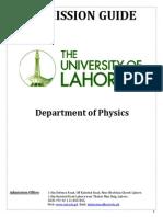 Adm.guide Physics