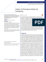 Screening Examination of Premature Infants for Retinopathy of Prematurity