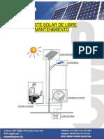 Poste Solar 30w