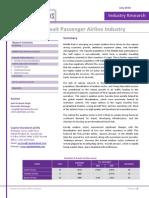 CSR Kuwait Passenger Airline Industry July2010