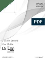 Manual Lg l80 d375arg Tv